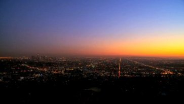 stock-footage-time-lapse-sunset-over-los-angeles-city-landscape