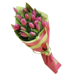 gift-wrapped-tulip-bouquet