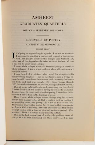 robert frost essay the figure a poem makes Free robert frost papers, essays poetry robert lee frost essays research papers] 2864 words as he is trying to figure out what route to take.