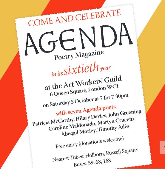 Agenda poster