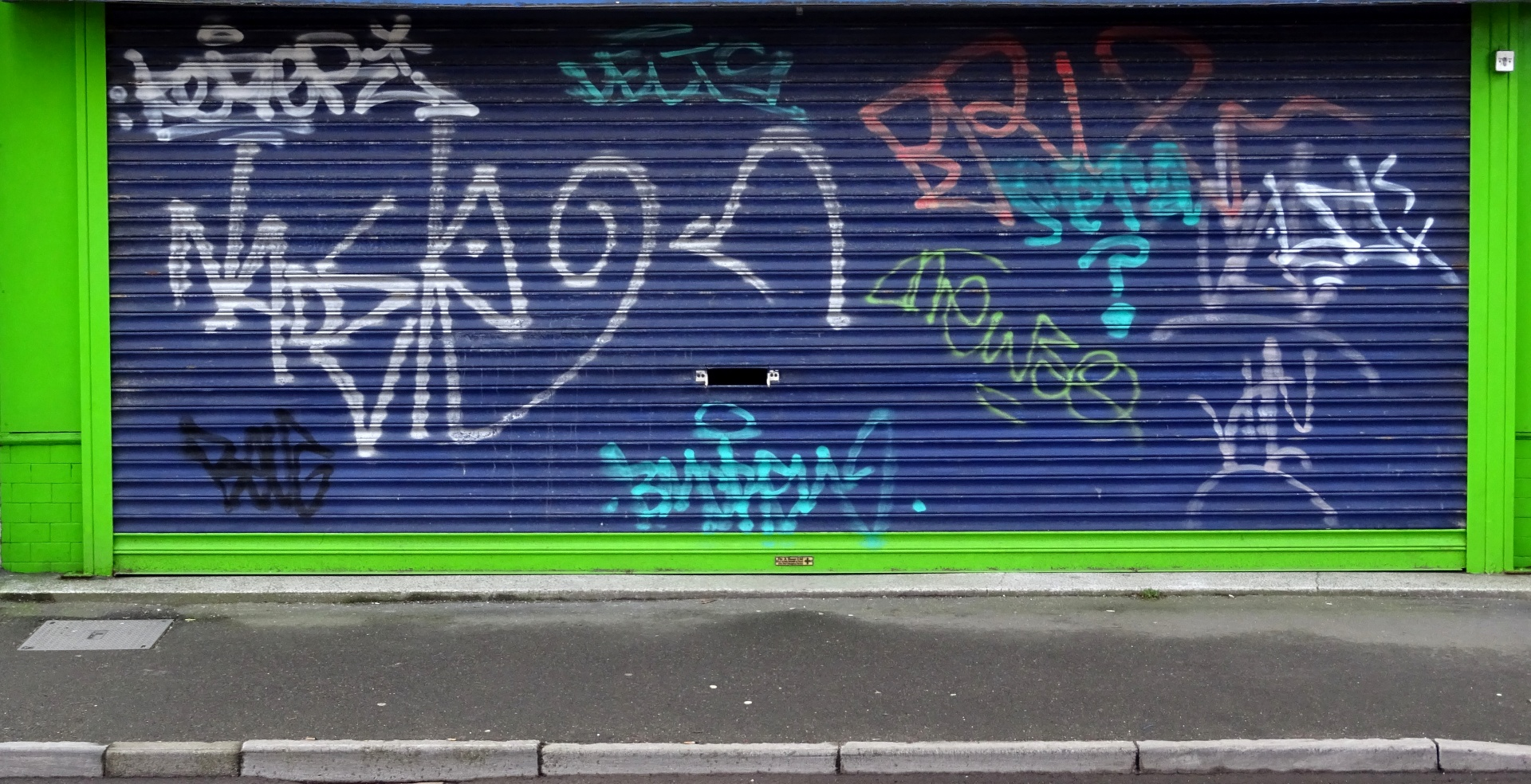 graffiti-on-shop-shutters